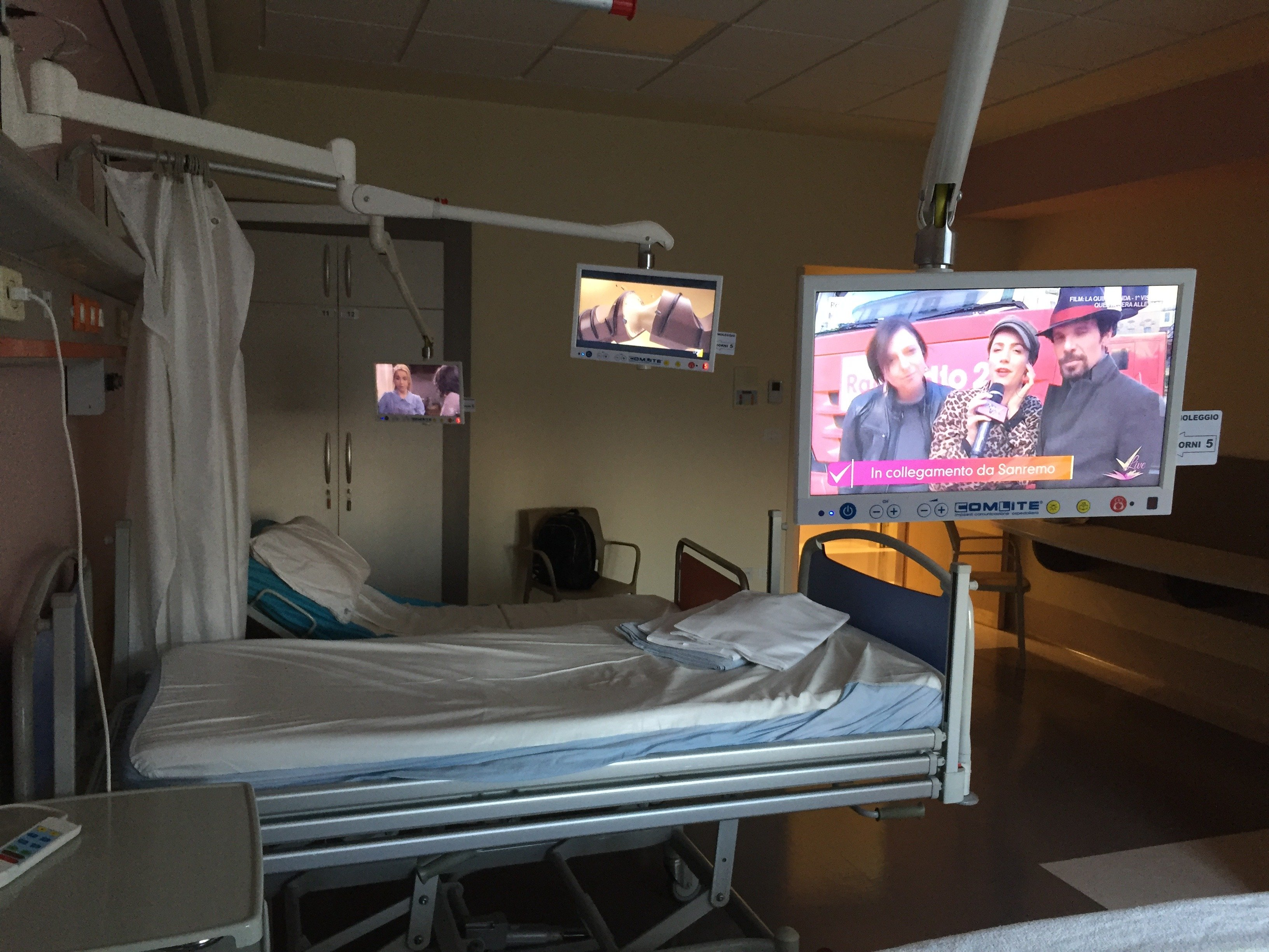 Sistemi TV sostenibili in sanità